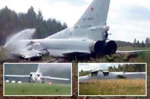 Russian Tu-22M3 bomber crashes in Arctic, 2 dead and 2 Injured