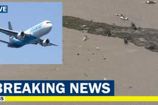 A Boeing 767 cargo jet nose-dived into Trinity Bay, All three crew members were killed