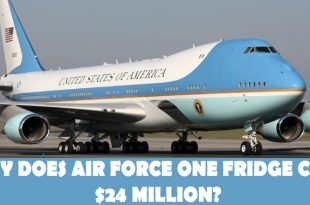 Why Does Air Force One refrigerators Cost $24 Million?