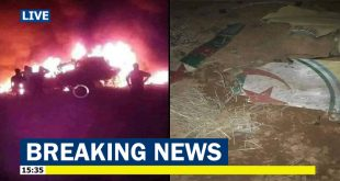 Algerian Air Force Sukhoi Su-24 fighter jet crashed, Both pilots died