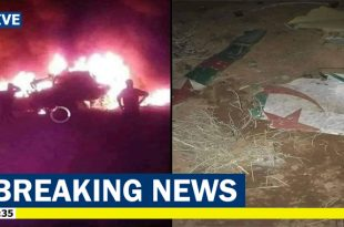 Algerian Air Force Sukhoi Su-24 fighter jet crashed, Both pilots died