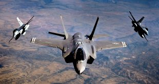 F-35 dominated this year's first Red Flag exercises with a 20-1 kill ratio