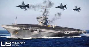 Here what would happen if the Enemy fighter jets try to Attack U.S. Navy Aircraft Carrier