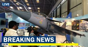India Unveils New LCA Tejas Mk.2 Medium Weight Fighter jet at Aero India 2019 Airshow