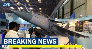 India Unveils New LCA Tejas Mk.2 Medium Weight Fighter jet at Aero India 2019 Airshow