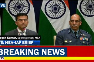 Indian MEA Spokesperson Raveesh Kumar confirm PAF have shotdown IAF MIG-21 fighter jet and captured pilots