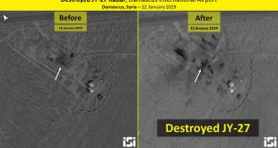 Israeli F-35i Adir fighter jet destroyed Chinese-made JY-27 radar during airstrikes in Syria: ImageSat