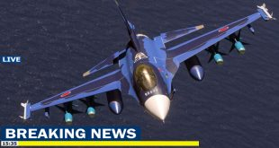 Japan Air Self-Defense Force Mitsubishi F-2 fighter jet crashed into the sea