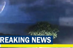 UFO sighting? Police Releases eerie footage of UFO hovering in the sky