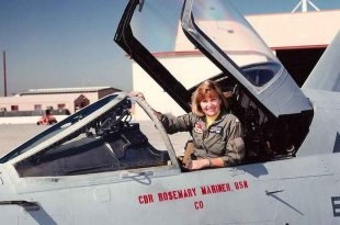 Rosemary Mariner first female navy fighter pilot, dead at 65 - Navy to honor with a Missing Man Flyover