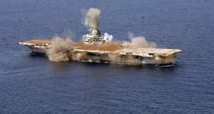 The U.S. Navy Blows up AIRCRAFT CARRIER: Sets World Record That Still Stands