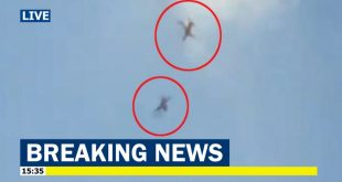 Two IAF Surya Kiran Aircraft collided mid-air during a rehearsal of Aero India, 1 pilot dead