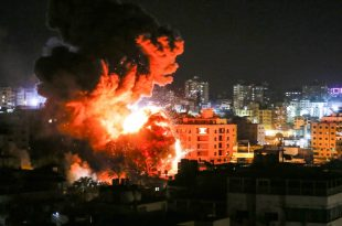 Israel launched Airstrike strikes in Gaza as Trump signs Golan decree