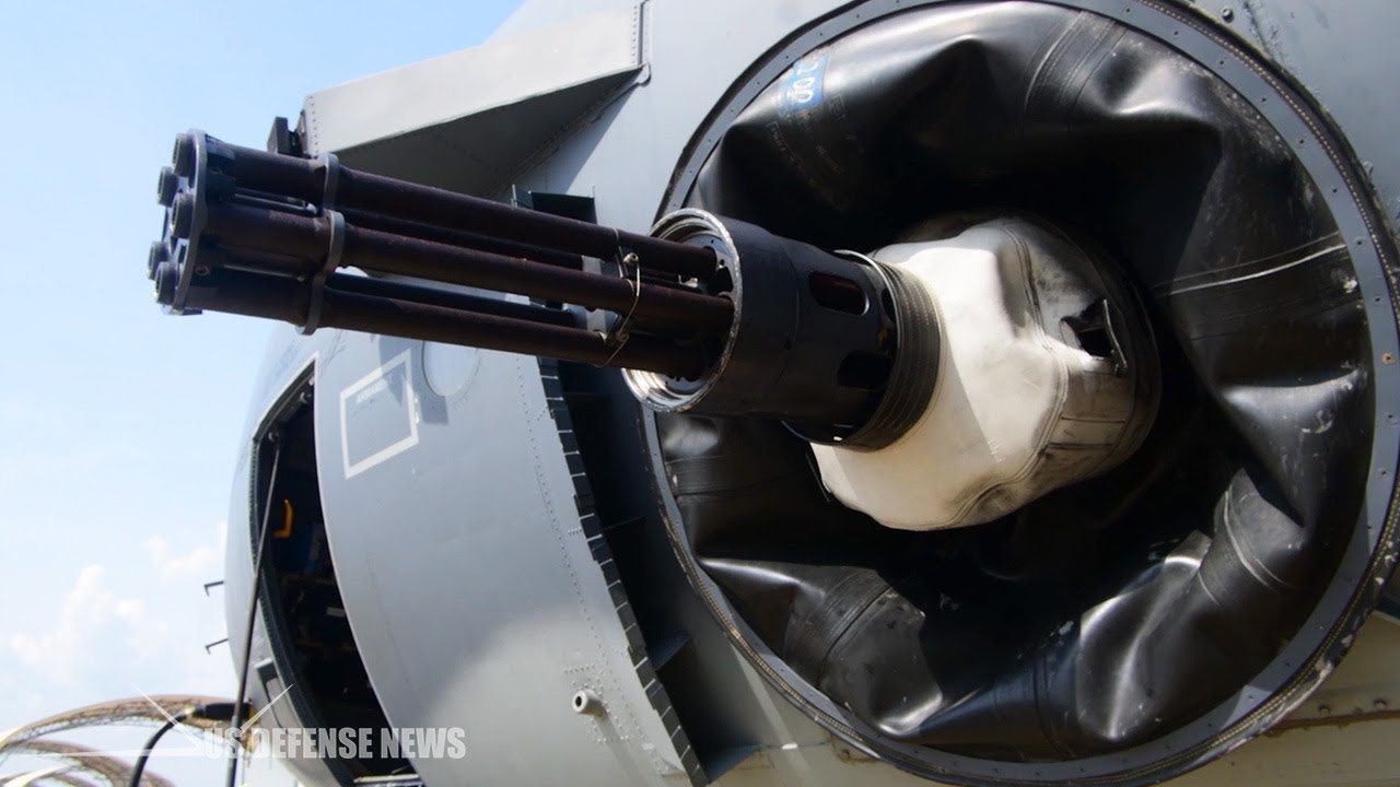 AFSOC gets latest most advanced version of the AC-130J Ghostrider gunship