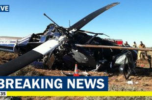 All 13 People On Board Killed in Kazakhstan Air Force Mil Mi-8 Helicopter crash