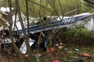 Cessna 337C Super Skymaster plane crash in Harrison County, 4 Dead