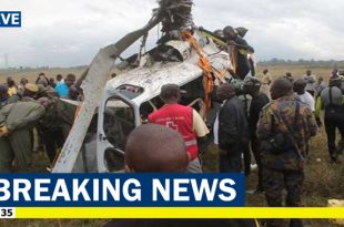 DP Ruto's pilot Pilot and 4 Americans killed in Turkana Helicopter crash