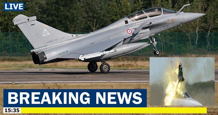 Armée de l'air française Dassault Rafale navigator seriously injured after being ejected on takeoff