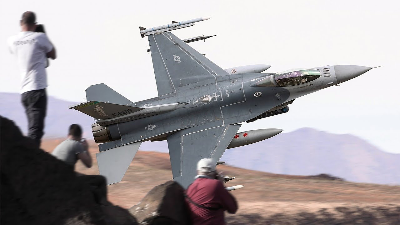 Death Valley Days 4K Video: Featuring really great Fighter jet passes including some rare birds