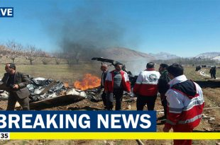 Five Killed In medical helicopter Crash In Western Iran