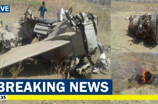 Indian Air Force MiG-27 crashed near Jodhpur, Rajasthan