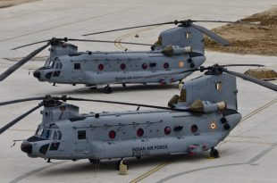Indian Air Force inducts Boeing CH-47 Chinook heavy-lift choppers