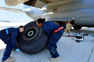 Interesting video shows how wheel are replaced on a $180 Millions Aircraft