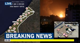 Israeli Fighter jets launches airstrikes on 100 Targets in Gaza