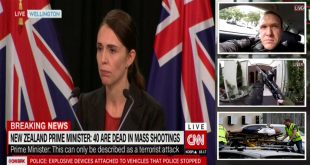 NZ PM Ardern: 40 killed, 20 injured, 4 Suspect arrested - 2 mosques attacked in Christchurch
