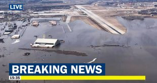 Offutt Air Force Base Offutt AFB Home Of Strategic Command Of The USAF's Is Flooding, 60 buildings damaged