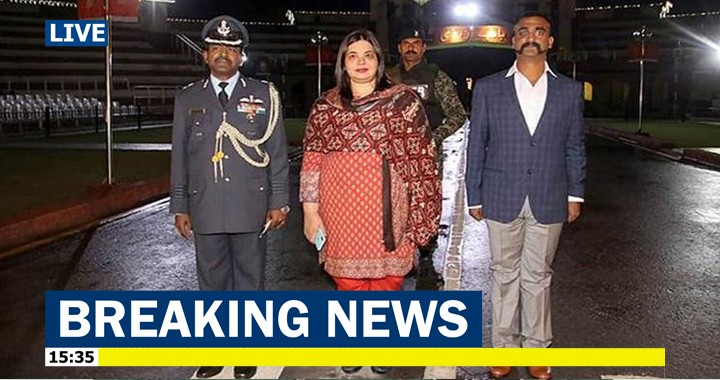 Pakistan hands over captured Wing Commander Abhinandan Varthaman To India as peace gesture