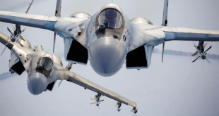 Russian Su-35 Accidentally Shot Down Another Russian Su-30 Fighter Jet During Dogfight Training