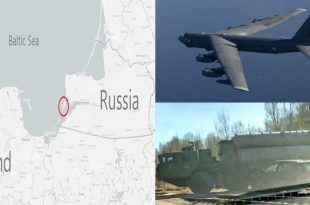 Russia deploys S-300 to Baltiysk amid tension as U.S.A.F Deploys B-52 Bombers to Europe