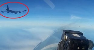 Russian MoD Releases VIDEO of Su-27 Fighter Jets intercepting U.S. B-52 bombers over Baltic Sea