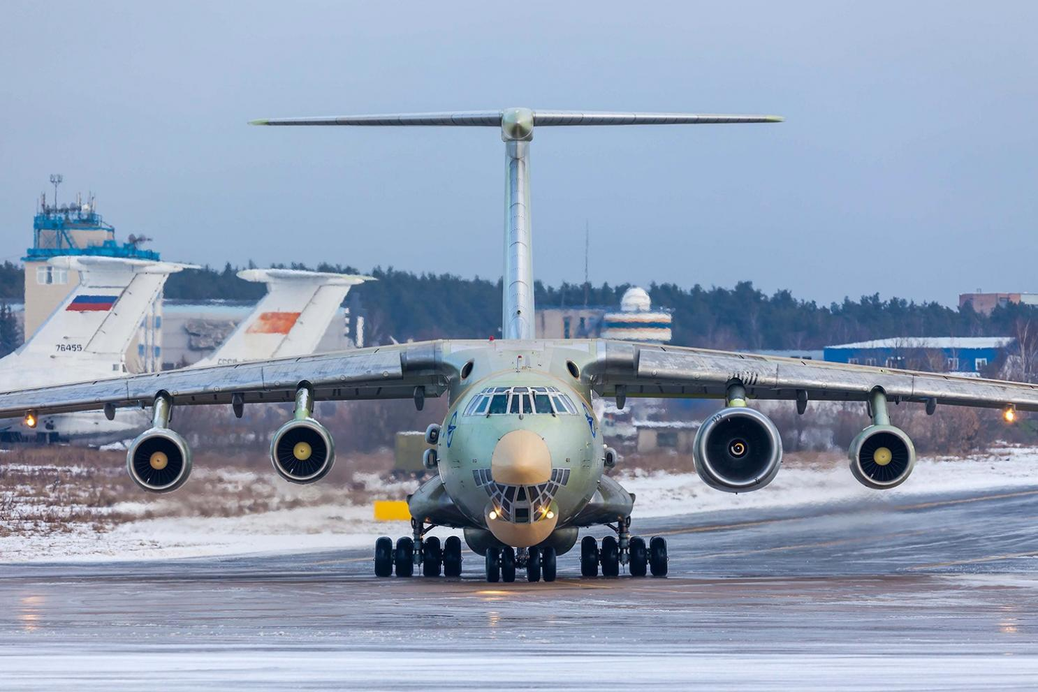 Russian MoD plans To Buy Over 100 Ilyushin Il-76 strategic airlifter  Military Aircraft In 10 Years