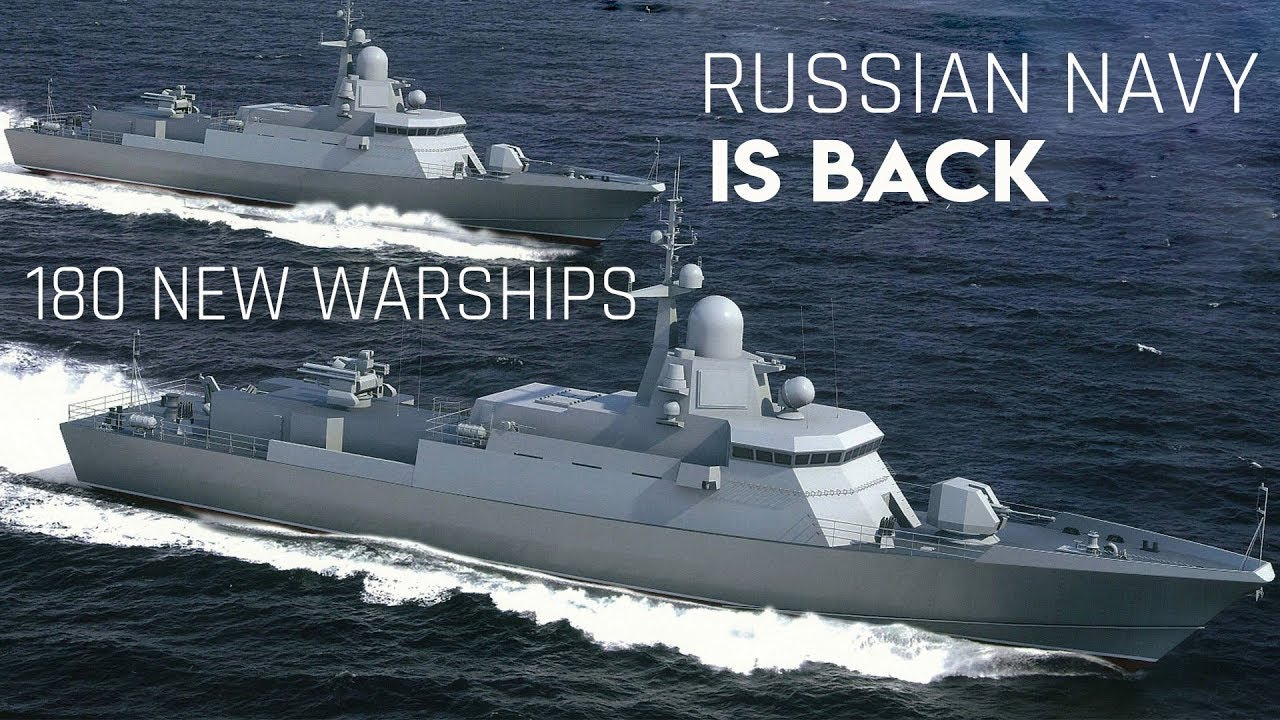 MASSIVE naval expansion: Russian Navy to add more than 180 ships in eight years