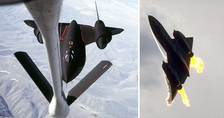 See How SR-71 Blackbird that was saved by a Tanker after a Double-Engine Flameout over Northern Laos