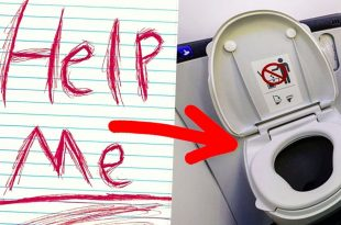 Story of Flight Attendant who saves passenger after Seeing Help Me Written In Aircraft Toilet