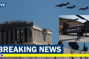 Turkish Fighter jets violated Greek airspace & harassed Greek PM Helicopter