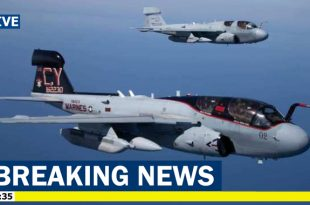 U.S. Marine Corps Deactivates Last electronic warfare EA-6B Prowler Squadron