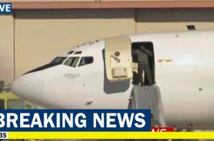 U.S. Navy E-6B Mercury Makes Emergency Landing in Tulsa Following On Board Fire Alarm