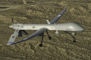 US Air Force drone crashes close to Bagram Airfield in Afghanistan