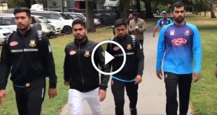 Video of Bangladesh cricket team escaping from Christchurch mosque mass shooting