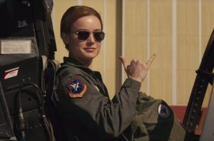 Watch Captain Marvel star Brie Larson Flying in F-16 Fighter jet