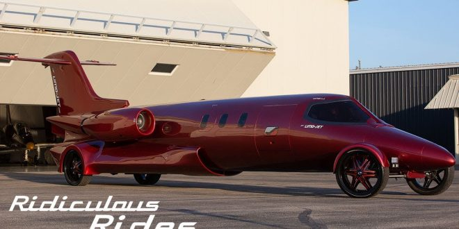 Watch The Awesome $5 Million Learjet Limo - A Limo On Wheels