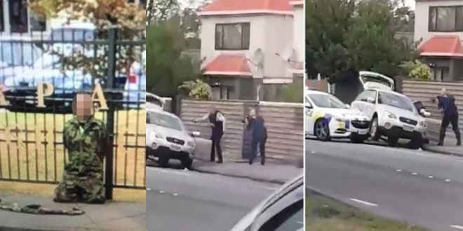 Watch Hero Cop Armed With Just A Handgun Took Down