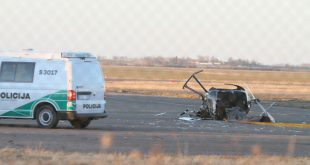 Ultrasport 555 helicopter crashed near at Barysii Airport, 2 Dead