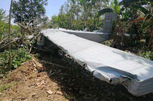 Royal Thai Air Force plane crash-landed in Khlong Hoi Khong district, 3 Injured