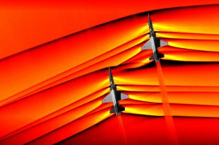 NASA captures first-ever air-to-air images of supersonic jets' shockwaves interacting in mid-flight