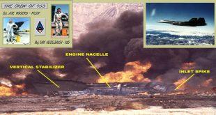 Sad Story of SR-71 Blackbird that crashed on FCF flight after Installation ofnew OBC Camera
